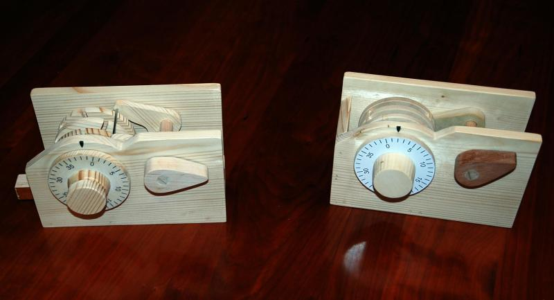 wooden lock plans