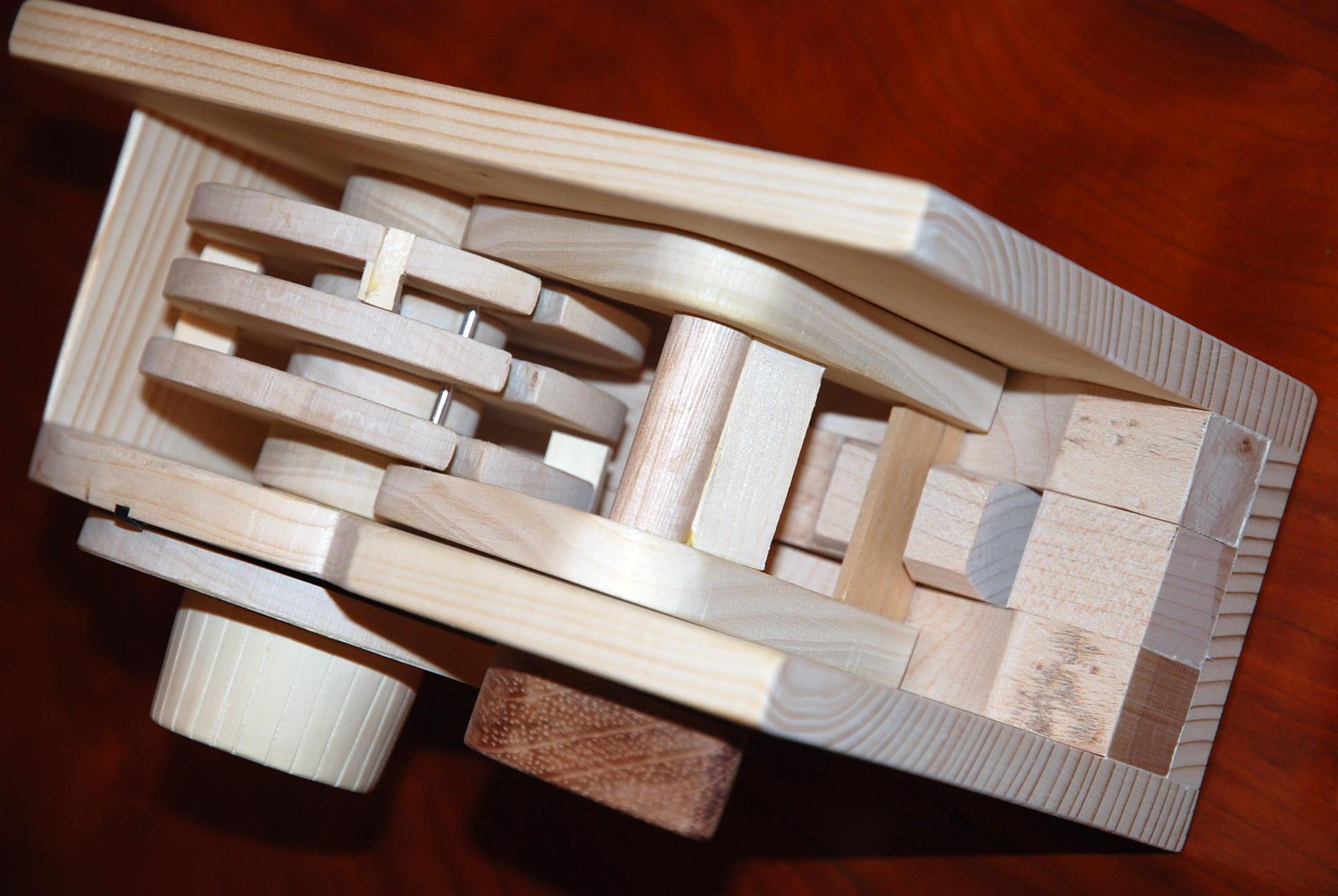 Wooden Combination Lock Plans Diy Free Download Build