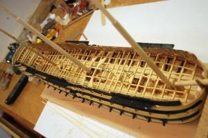 Middle Deck Framing